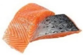 Frozen Salmon Portion Cut (Skin On)