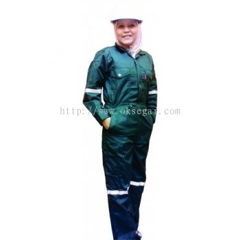 NOMEX® Coverall Dark Green