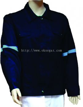 Jacket Navy Blue TC DRILL