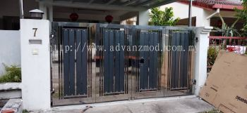 Local 304 Stainless Steel Folding Gate