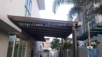 Mild Steel Roofing Cover With Aluminium Composite Panels