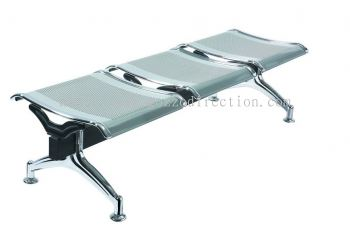 Airport Waiting Steel Bench GOAIR-0115