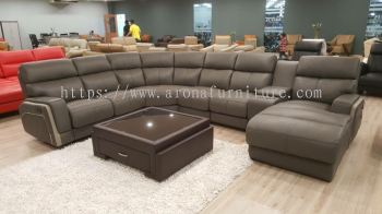 Leather Sofa - Corner