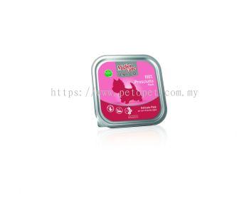 02441 Migliorcane Unico Monoprotein Grain Free Pate with 100% Ham