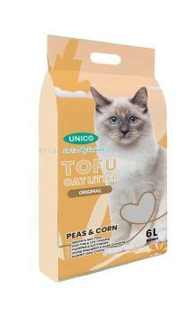 60368 Unico Tofu 6L Cat Litter - Original