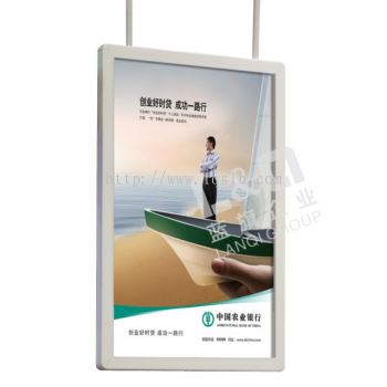 LQ-YZ(Rounded corners LED Slim light box 40mm width