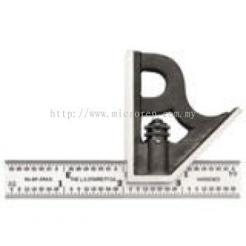 "C11H-4-4R 4"" Combination Square with Square Head"