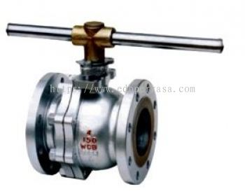 ZGV CLASS 150~600 2-PC BODY FLOATING FLANGED END BALL VALVE