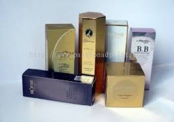 Silver foil / Metalized Packaging Boxes Rance