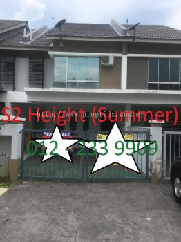 Double Storey Terrace House - S2 Height Summer