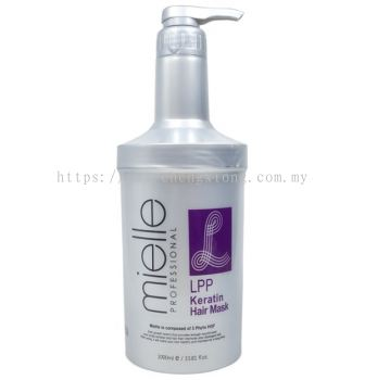 MIELLE KERATIN LPP HAIR MASK (1000ML)