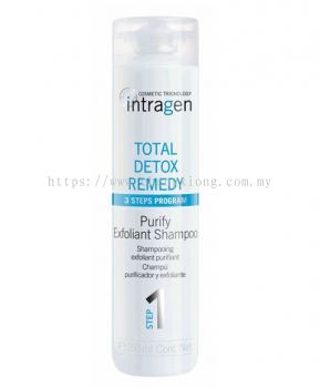 Intragen Total Detox Remedy Purifying Exfoliant Shampoo 250ml