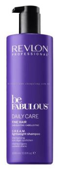 REVLON BE FABULOUS LIGHTWEIGHT SHAMPOO 1000ML