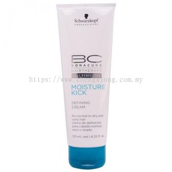 Schwarzkopf Bc Moisture Kick Defining Cream 125ml (for Normal To Dry And Curly Hair)