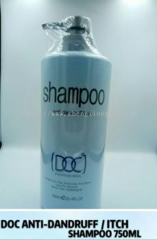 DOC ANTI DANDRUFF /ITCH SHAMPOO 750ML