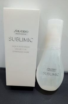 Shiseido Professional Sublimic Aqua Intensive Velvet Oil 100ML