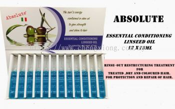 ABSOLUTE ESSENTIAL CONDITIONING LINSEED OIL 12X13ML