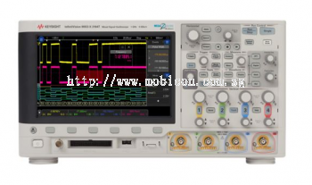 Mixed Signal Oscilloscope 100 MHz, 4 Analog Plus 16 Digital Channels, MSOX3014T