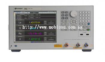 LCR Meter, 1MHz to 300MHz/500MHz/1GHz/3GHz, E4982A