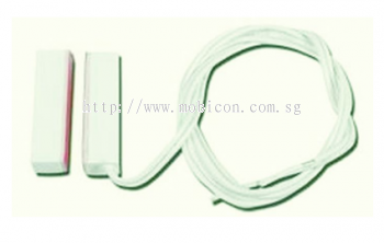 Magnetic door contact with cable length 2m