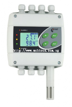H7430 temperature, humidity, pressure regulator with two relay and RS485 outputs