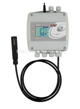 H7531 - thermometer hygrometer barometer with Ethernet interface and relays