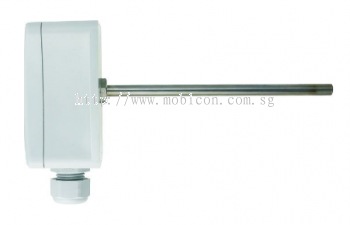 P0212 Duct mount temperature transmitter with 0-10V output, stem length 120mm