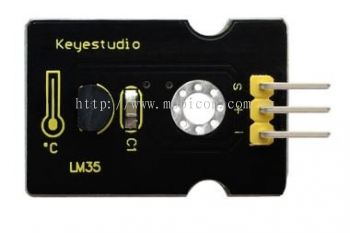 Keyestudio LM35 Linear Temperature Sensor