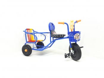 Tricycle Twinseat 398