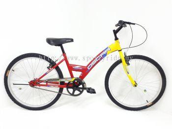 "24"" Y-bike Single Speed Oscar"