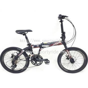 "20"" Folding Bike Java Pro 4 9s"