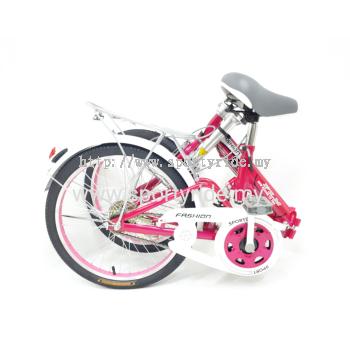 """20"""" Folding Bike Single Speed FLM"""