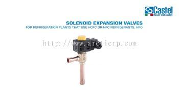 CASTEL SOLENIOD EXPANSION VALVE