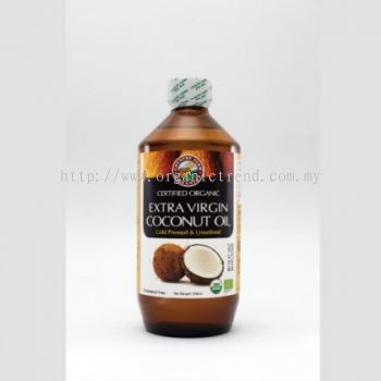 CF-COCONUT OIL-EXTRA VIRGIN-ORG-500ML