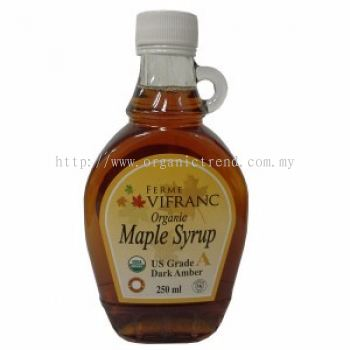 FV-MAPLE SYRUP-GRADE A-ORGANIC-250ML