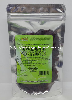 CRANBERRIES-DRIED-ORGANIC*有机蔓越莓亁