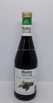 BIOTTA-BLACK CURRANT JUICE-NATURAL-500ML