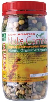 GB-NUTS CARNIVAL-ORG-210G