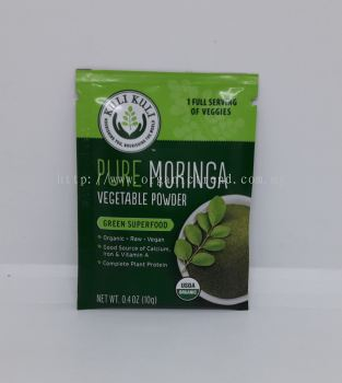 KL-MORINGA VEGETABLE POWDER-ORG-10G