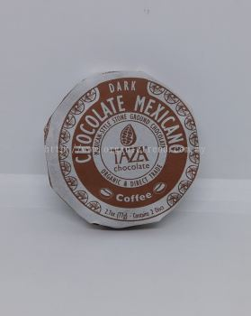 TAZA-DARK CHOCOLATE-COFFEE-ORG-77G