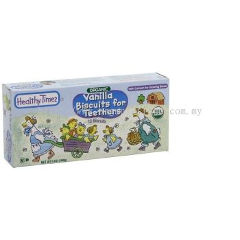 HTP-TEETHERS BISCUITS-VANILLA-ORG-168G