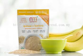 NTM-BABY CEREAL-ORG-QUINOA*APPLE-104G