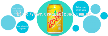 ZEVIA-ZERO CALORIES SODA-LEMON LIME-355ML