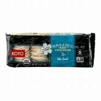 KOYO-RICE CRACKERS-ORG-NO SALT-100G