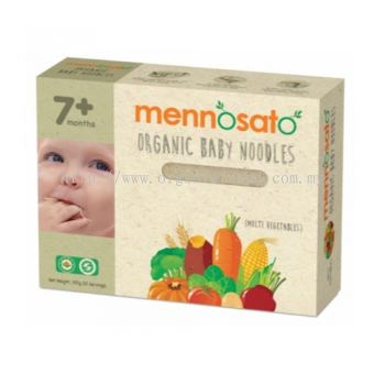 MENNOSATO-BABY NOODLES-MULTI VEGETABLE-200G