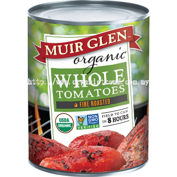 MUIR GLEN-WHOLE TOMATOES-FIRE ROASTED-793G