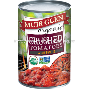 MUIR GLEN-CRUSHED TOMATOES-FIRE ROASTED-410G