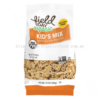 FD-KID'S MIX*BROWN RICE PASTA-ORG-340G