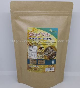 BREAKFAST CEREAL*MIXED NUTS-ORGANIC-400G