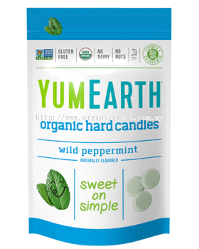 YUMEARTH-WILD PEPPERMINT CANDIES